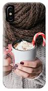 Hot Chocolate IPhone Case by Viktor Pravdica