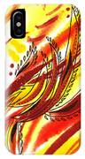 Hot Lines Twist Abstract IPhone Case