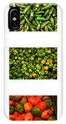 Hot Pepper Collage IPhone Case
