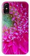 Hot Pink Gerbera Daisy IPhone Case