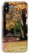 Hot Pink Hoodie - Davidson College IPhone Case