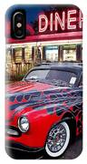Hot Rod Diner Classic  IPhone Case
