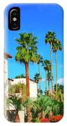 Hotel California Palm Springs IPhone Case