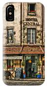 Hotel Central In Beaune France IPhone Case