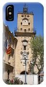 Hotel De Ville - Aix En Provence IPhone Case