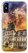 Sunset At The Hotel De Ville IPhone Case