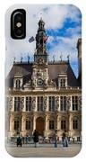 Hotel De Ville The Paris City Hall IPhone Case