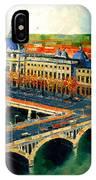 Hotel Dieu De Lyon II IPhone Case