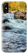 Housatonic River Autumn IPhone Case
