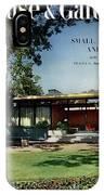 House & Garden Cover Of The Kurt Appert House IPhone X Case