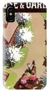House And Garden Cover IPhone X Case