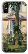House At Rueil IPhone Case
