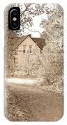 House In Autumn IPhone X Case