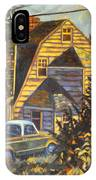 House In Christiansburg IPhone Case