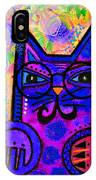 House Of Cats Series - Paws IPhone Case