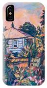 House On Route 11 IPhone Case