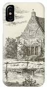 House Snaatburg Maarssen, The Netherlands IPhone Case