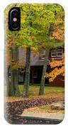 House Surrounded With Colors IPhone Case