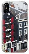 Houses In Amsterdam From Above IPhone Case