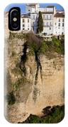 Houses On Rock In Ronda IPhone Case