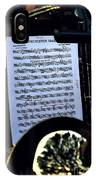 Houston Brass Band In Concert IPhone Case
