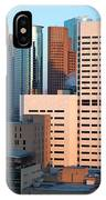 Houston Financial District IPhone Case