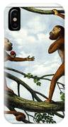 Howling Monkey IPhone Case
