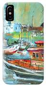 Howth Harbour 01 IPhone Case