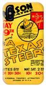 Hoyts A Texas Steer IPhone Case
