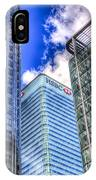 Hsbc Tower London IPhone Case