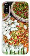 Hua Hin Market 03 IPhone Case