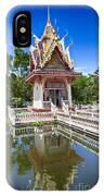 Hua Hin Temple Pond IPhone Case