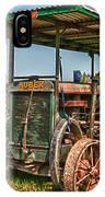 Huber Tractor IPhone Case