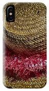 Hula Hats 5 IPhone Case