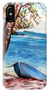 Hull Bay Boat IPhone Case