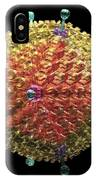 Human Adenovirus 36, Artwork IPhone Case