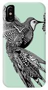 Hummingbird Flight 14 IPhone Case