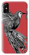 Hummingbird Flight 15 IPhone Case