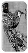 Hummingbird Flight 17 IPhone Case