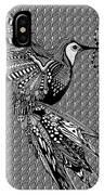 Hummingbird Flight 20 IPhone Case