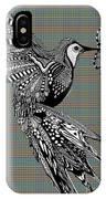 Hummingbird Flight 21 IPhone Case