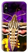 Hummingbird Moth   #8645 IPhone Case
