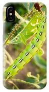 Hummingbird Moth Caterpillar IPhone Case