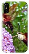 Hummingbird Moths IPhone Case