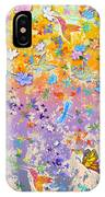 Hummingbird Spring IPhone Case