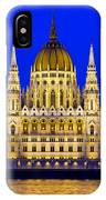 Hungarian Parliament At Twilight IPhone Case
