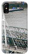 Hungerford Bridge IPhone Case