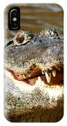 Hungry Alligator IPhone Case