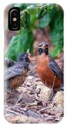 Hungry Baby Robin IPhone Case