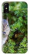 Hungry Chipmunk  IPhone Case